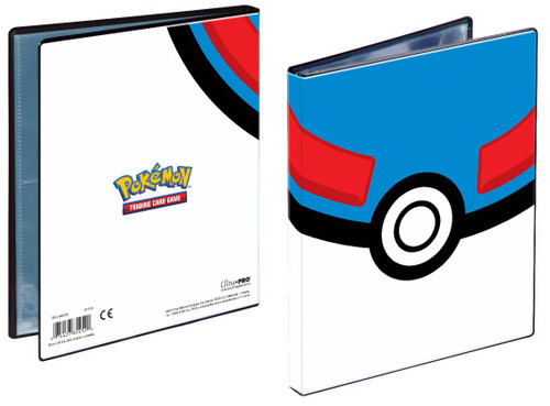 Ultra Pro Pokemon Trading Card Game Great Ball 4-Pocket Portfolio