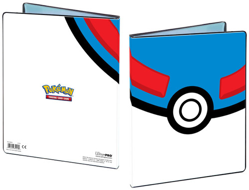 Ultra Pro Pokemon Trading Card Game Great Ball 9-Pocket Portfolio