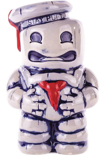 Ghostbusters Stay Puft Marshmallow Man Ceramic Tiki Mug [36 Ounce Size]