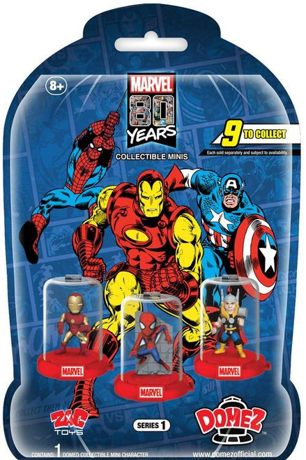Domez Marvel 80th Anniversary Mystery Pack
