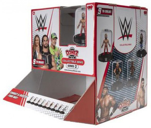 Domez Series 1 WWE Wrestling Mystery Box [18 Packs]