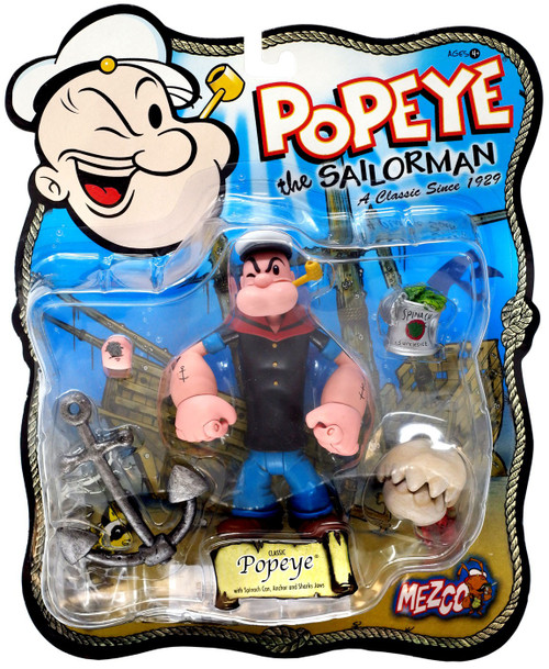 Popeye the Sailor Man Classic Popeye Action Figure