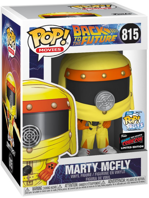 Funko Back to the Future POP! Movies Marty McFly Exclusive Vinyl Figure #815 [Darth Vader]