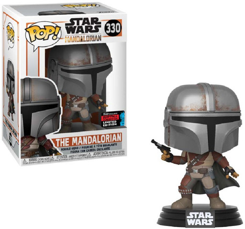 Funko POP! Star Wars The Mandalorian Exclusive Vinyl Bobble Head #330 [Blaster Pistol]