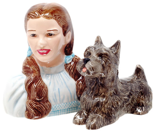 The Wizard of Oz Dorothy & Toto Salt & Pepper Shakers