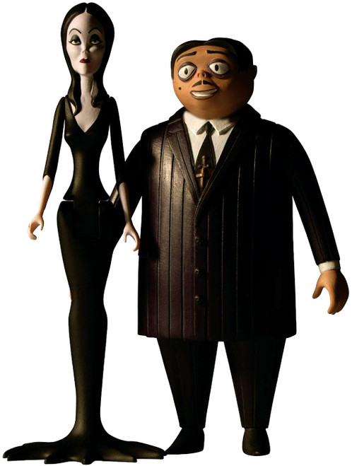 The Addams Family 5 Points Gomez & Morticia Action Figure 2-Pack