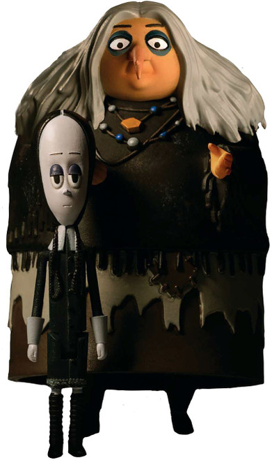 The Addams Family 5 Points Wednesday & Grandma Action Figure 2-Pack