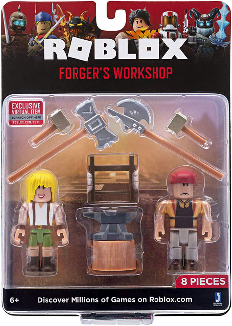 Roblox Forger's Workshop Action Figure Game Pack