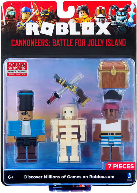 Roblox Cannoneers: Battle for Jolly Island Action Figure Game Pack