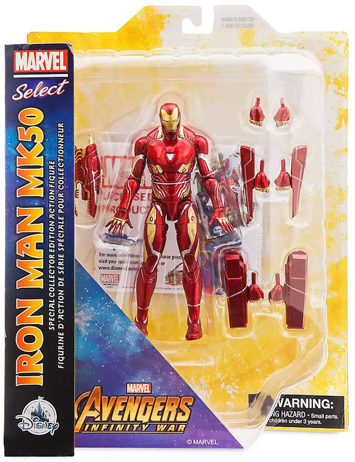 Avengers Endgame Marvel Select Iron Man MK50 Exclusive Action Figure