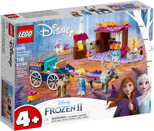 LEGO Disney Princess Disney Frozen 2 Elsa's Wagon Adventure Set #41166