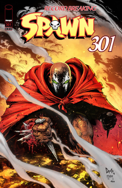 Image Comics Spawn #301 Comic Book [Greg Capullo Cover B]