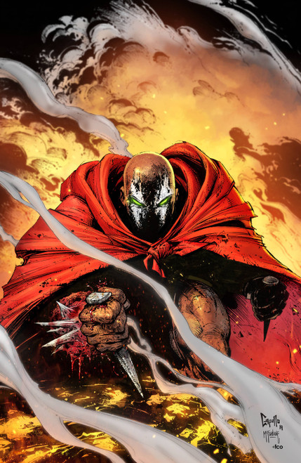 Image Comics Spawn #301 Comic Book [Greg Capullo Virgin Cover C]