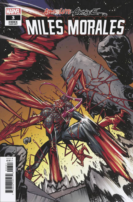 Marvel Comics Absolute Carnage Miles Morales #3 Comic Book [Kim Jacinto Variant Cover]