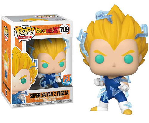 Funko Dragon Ball Z Pop! Animation Super Saiyan 2 Vegeta Exclusive Vinyl Figure #709 [Regular Version]
