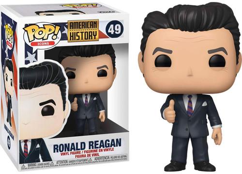 Funko American History POP! Icons Ronald Reagan Vinyl Figure #49