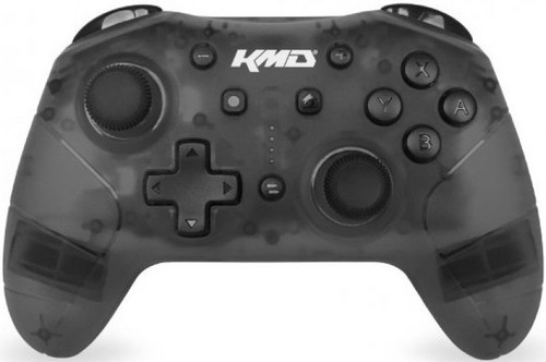 Nintendo Switch Clear Black Wireless Pro Video Game Controller