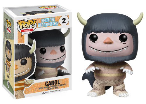 Funko Where the Wild Things Are POP! Books Carol Vinyl Figure #02 [Damaged Package]