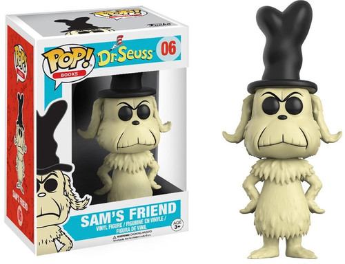 Funko Dr. Seuss POP! Books Sam's Friend Vinyl Figure #06 [Damaged Package]