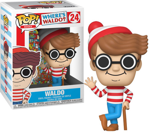 Funko Where's Waldo POP! Books Waldo Vinyl Figure