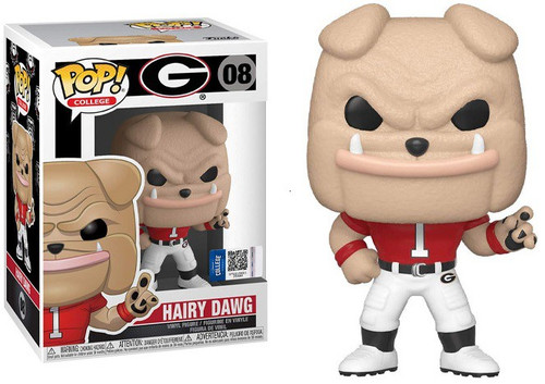 Funko University of Georgia POP! College Hairy Dawg Vinyl Figure