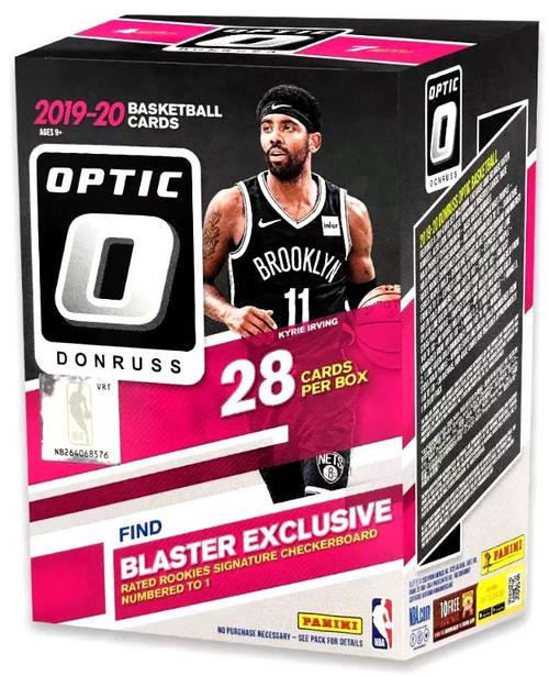 NBA Panini 2019-20 Donruss Optic Basketball Trading Card BLASTER Box [7 Packs]