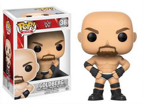 Funko WWE Wrestling POP! Sports Goldberg Vinyl Figure [Old School, Damaged Package]