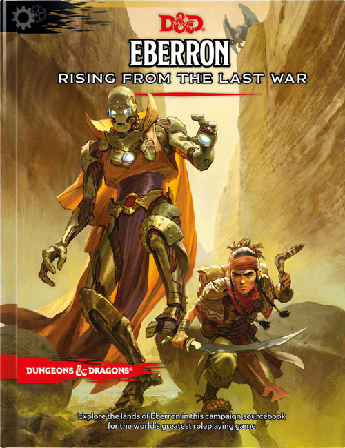 Dungeons & Dragons 5th Edition Eberron - Rising from the Last War Hardcover Roleplaying Book [Regular Cover]