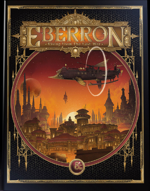 Dungeons & Dragons 5th Edition Eberron - Rising from the Last War Hardcover Roleplaying Book [Alternate Cover]