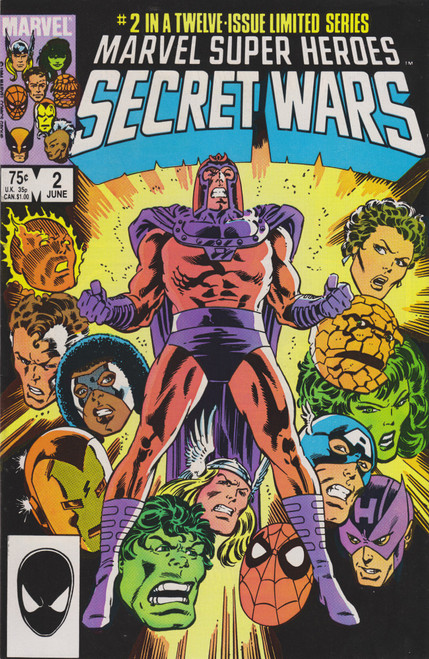 Marvel Comics Marvel Super Heroes Secret Wars #2 Comic Book