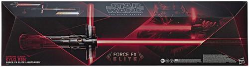 Star Wars The Rise of Skywalker Black Series Kylo Ren Force FX Elite Lightsaber