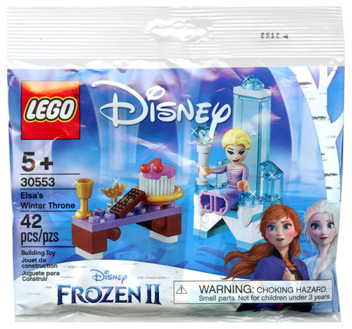 LEGO Disney Princess Disney Frozen 2 Elsa's Winter Throne Set #30553