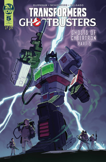 IDW Transformers & Ghostbusters #5 of 5 Comic Book [Evan Stanley Variant Cover]