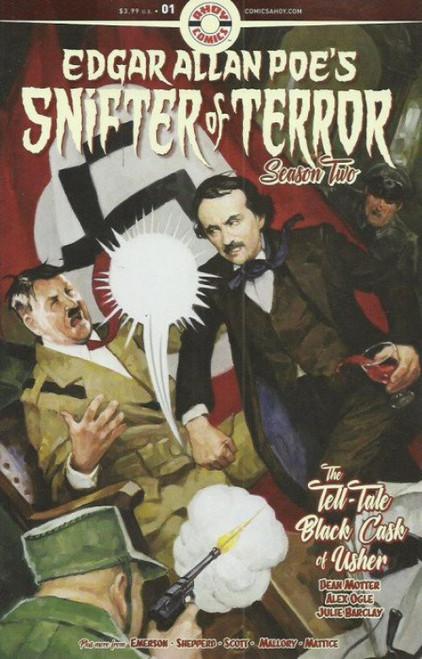 Ahoy Comics Edgar Allan Poe's Snifter of Terror Season Two #1 Comic Book
