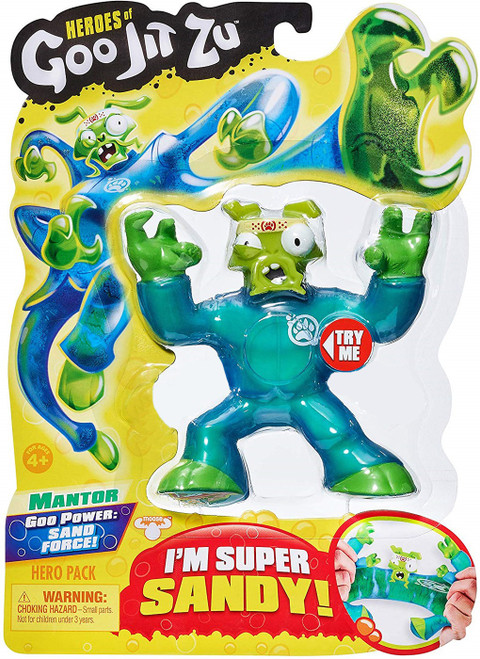 Heroes of Goo Jit Zu Mantor the Praying Mantis Action Figure