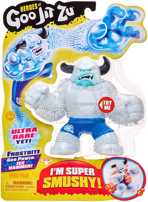 Heroes of Goo Jit Zu Frostbite Action Figure [Yeti]