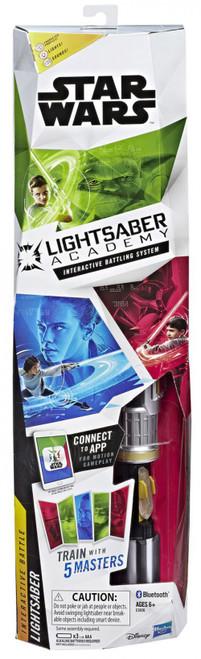 Star Wars Lightsaber Academy Interactive Battle Lightsaber [Character Phrases, Lights, & Sounds]