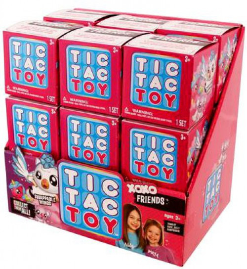Tic Tac Toy XOXO Friends Mystery Box [18 Packs]