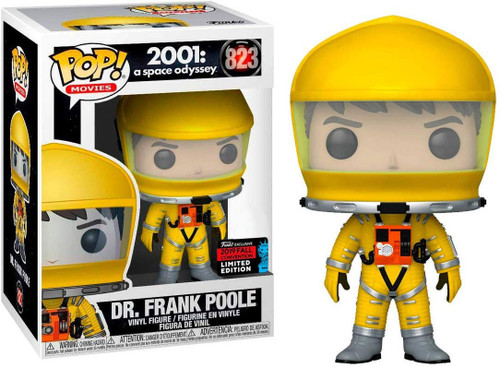 Funko 2001: A Space Odyssey POP! Movies Dr. Frank Poole Exclusive Vinyl Figure #823