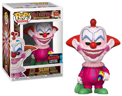 Funko Killer Klowns From Outer Space POP! Movies Slim Exclusive Vinyl Figure #822