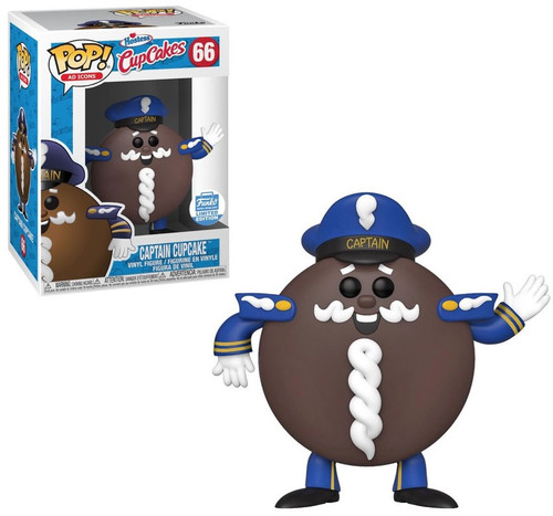 Funko Hostess POP! Ad Icons Captain Cupcake Exclusive Vinyl Figure #66
