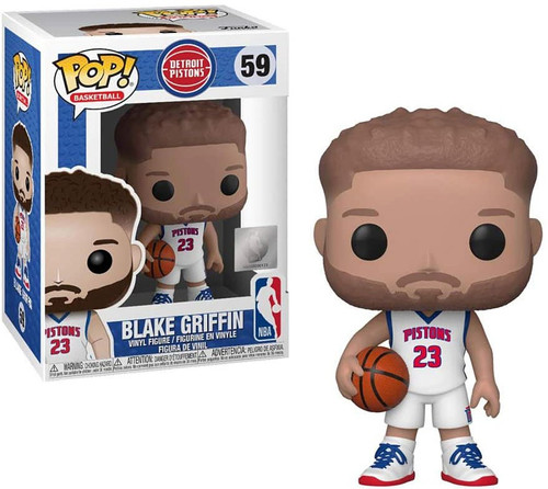 Funko NBA Detroit Pistons POP! Sports Basketball Blake Griffin Vinyl Figure #59