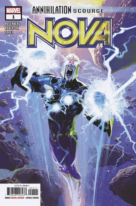 Marvel Comics Annihilation #1 Scourge Nova Comic Book