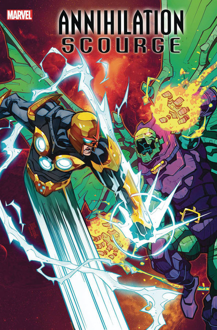 Marvel Comics Annihilation #1 Scourge Nova Comic Book [Eduard Petrovich Variant Cover]
