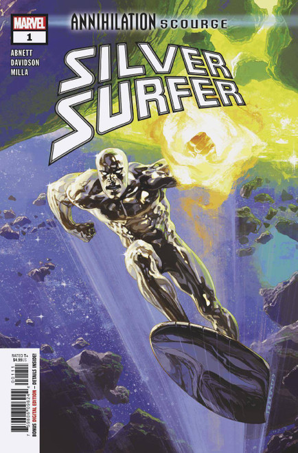 Marvel Comics Annihilation #1 Scourge Silver Surfer Comic Book