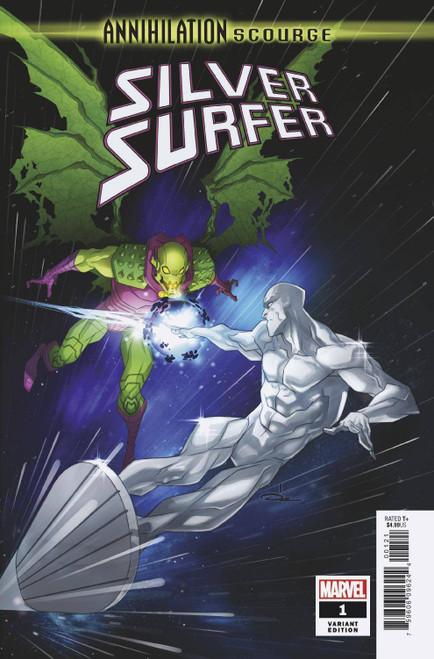 Marvel Comics Annihilation #1 Scourge Silver Surfer Comic Book [Ozgur Yildirim Variant Cover]