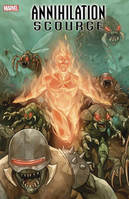Marvel Comics Annihilation #1 Scourge Fantastic Four Comic Book [Phil Noto Variant Cover]