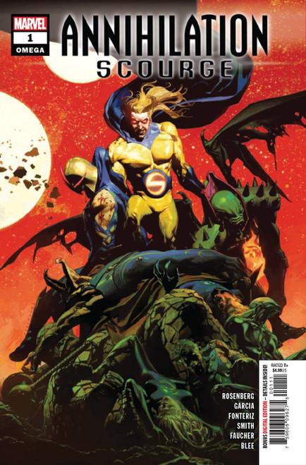 Marvel Annihilation #1 Scourge Omega Comic Book