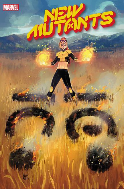 Marvel New Mutants #4 Comic Book