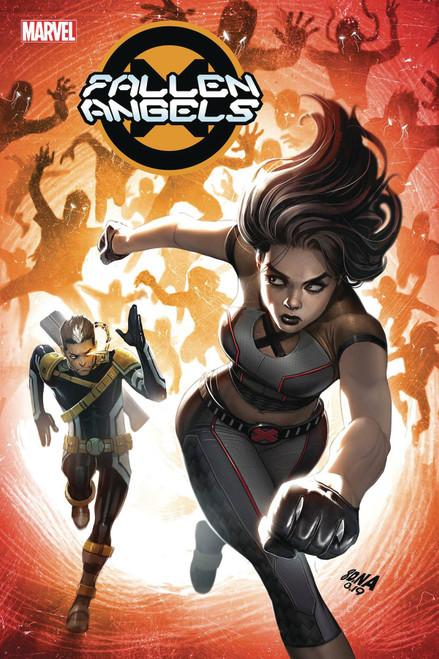 Marvel Fallen Angels #4 Comic Book